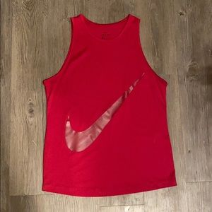 NIKE women's dri-fit tank top